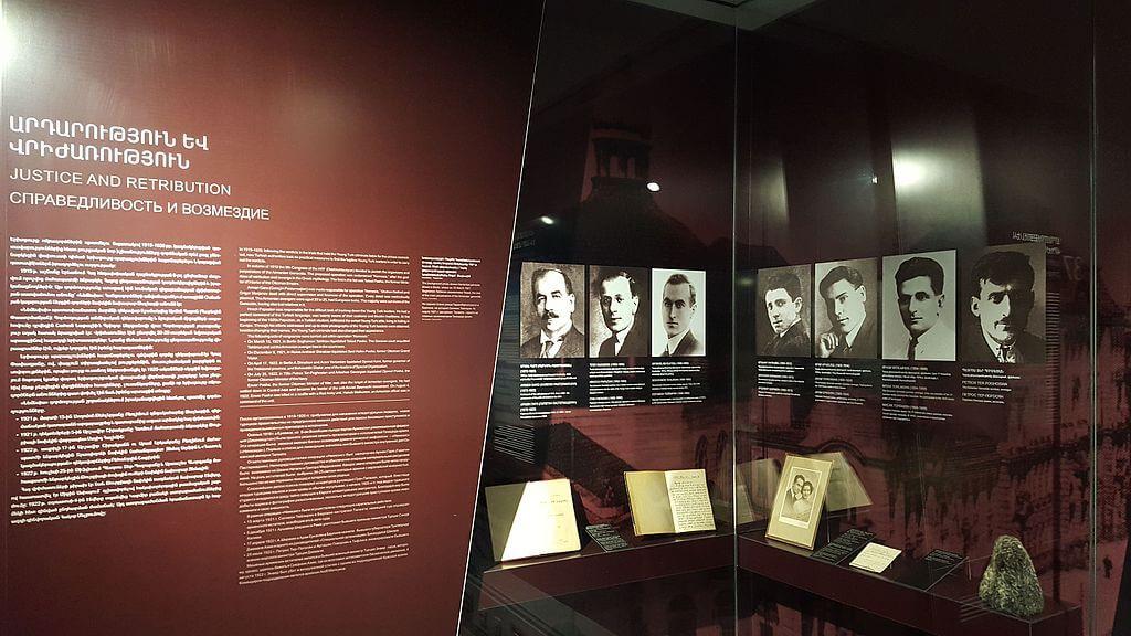 Выставка, посвящённая операции «Немезис» в Цицернакабердe