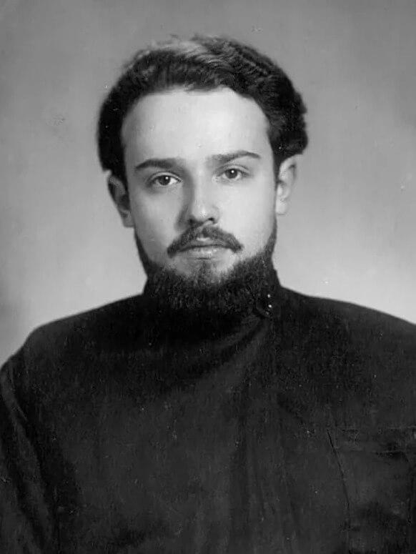 Александр Мень в молодости