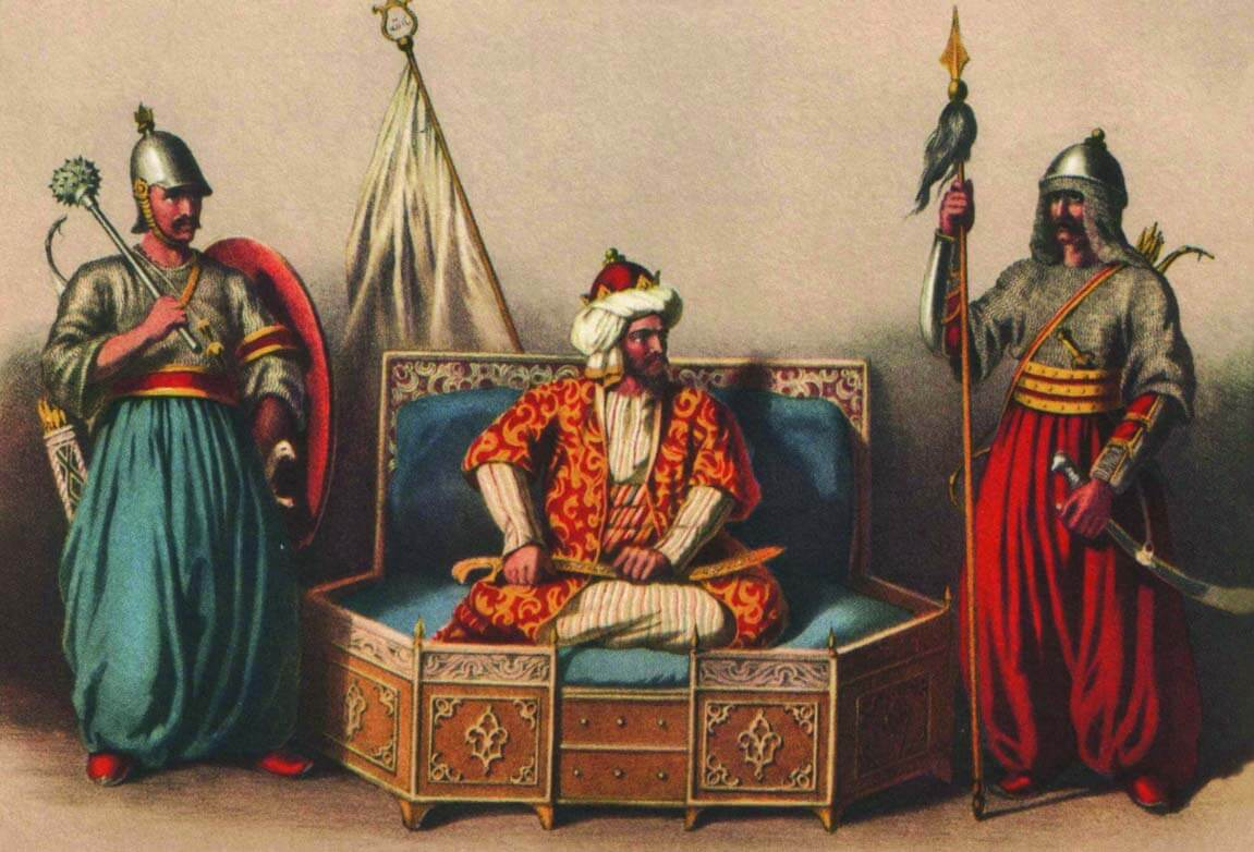 Ариф-Паша «Осман-Бей и османские государственные чиновники»