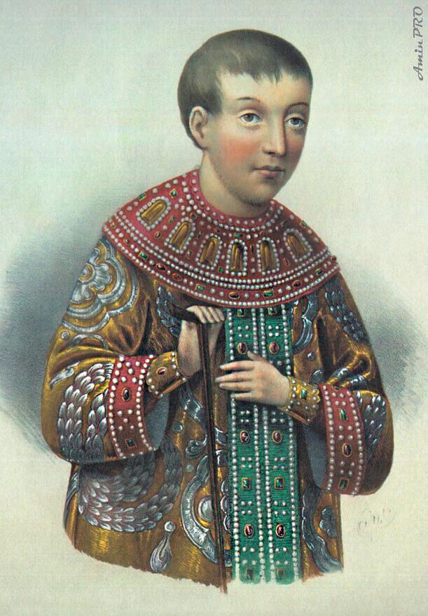 Борель Петр Федорович «Портрет царевича Алексея Алексеевича»