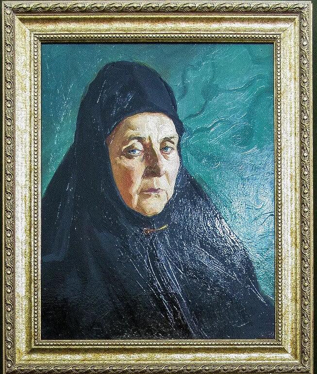 М.А.Подкопаева «Царевна Марфа Алексеевна в Александровой слободе», 2008 год