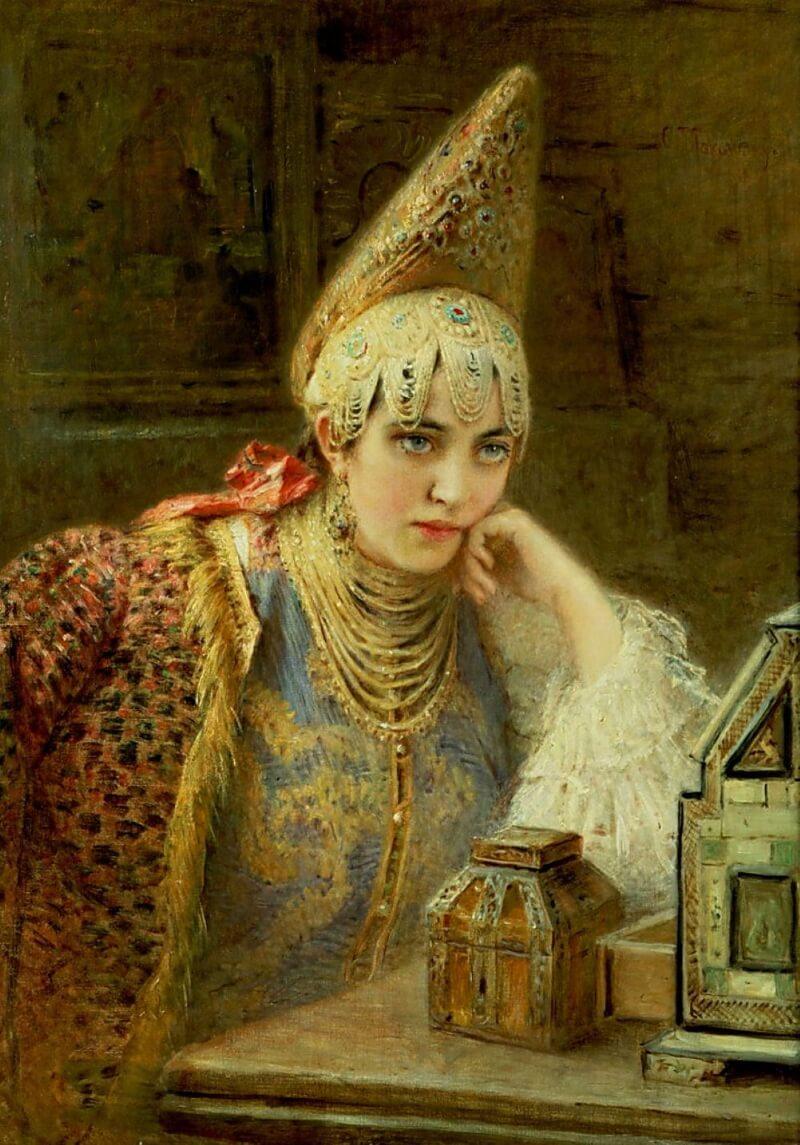 Маковский Константин «Русская красавица»