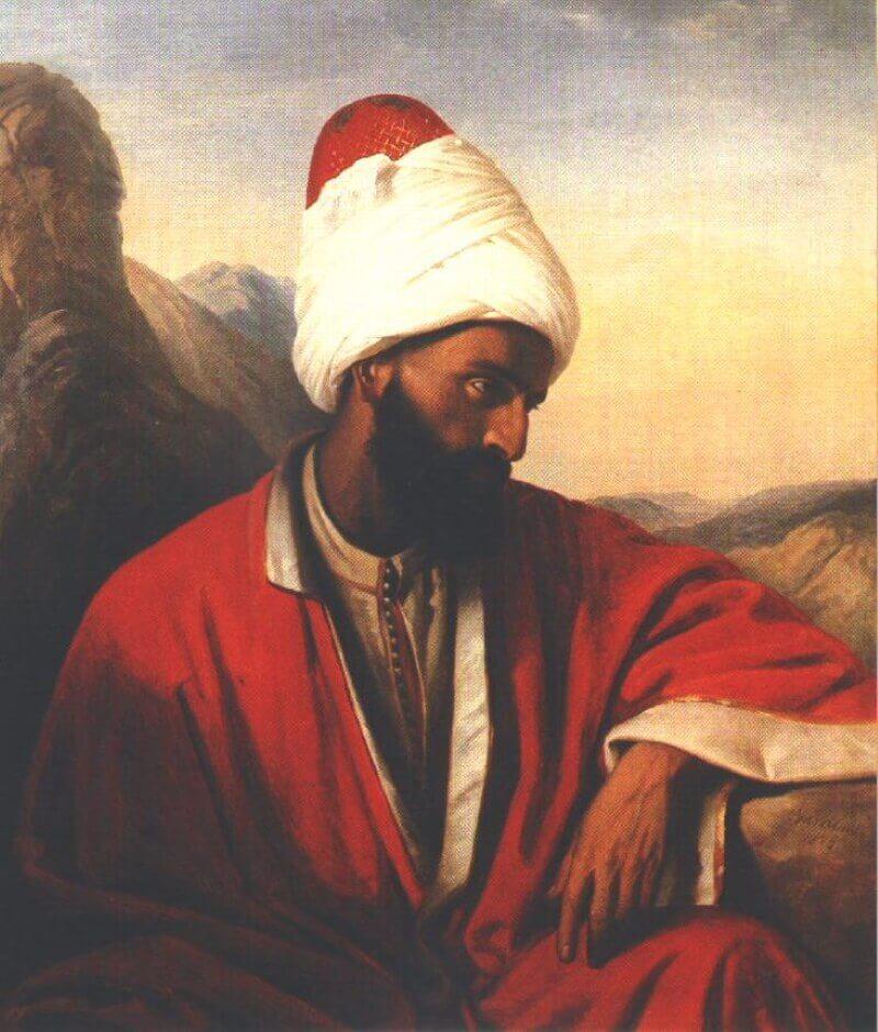 Миклош Барабаш «Арабский мужчина, дервиш»