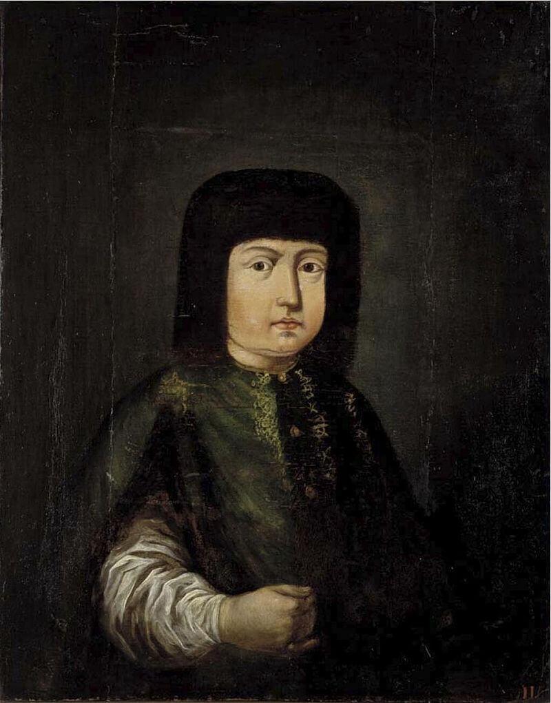 Неизвестный художник «Портрет царевны Марфы Алексеевны. Начало XVIII в.»