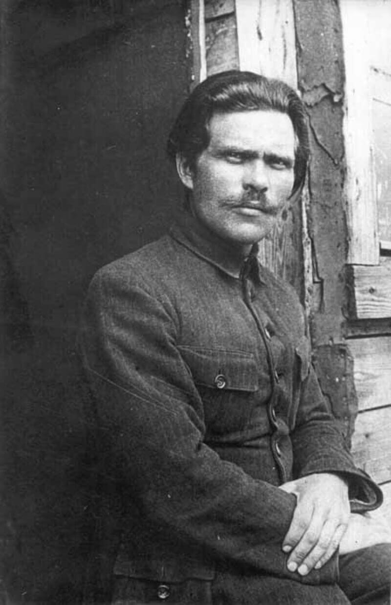 Нестор Махно в 1921 году
