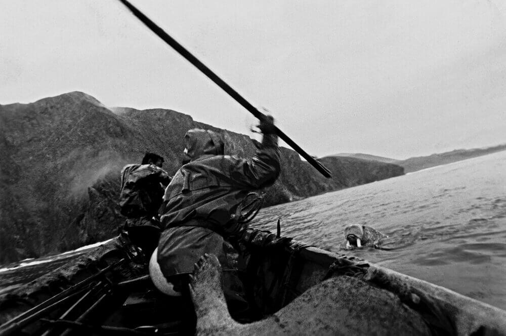 Охотники на моржей на Чукотском полуострове. Виктор Загуменнов