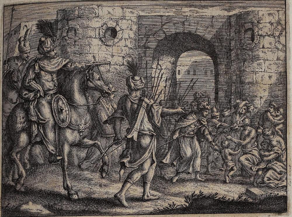 Осман Гази захватывает Византийскую крепость