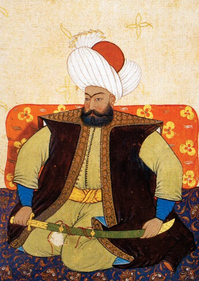 Османский султан Осман I