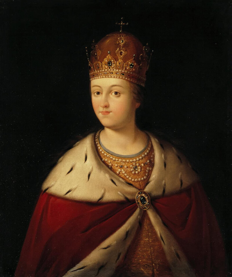 Портрет царевны Софьи