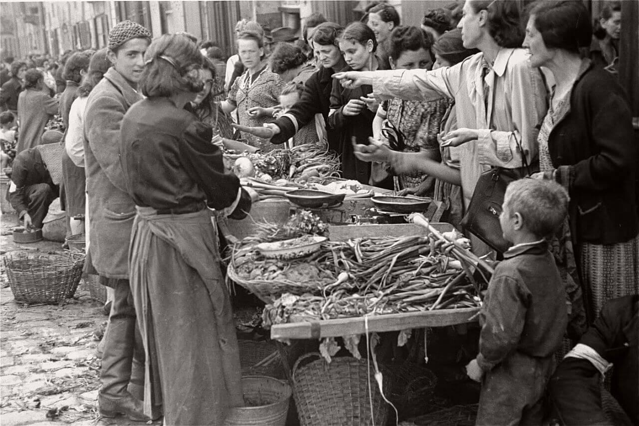 Повседневная жизнь в Варшавском гетто (лето 1941 г.)