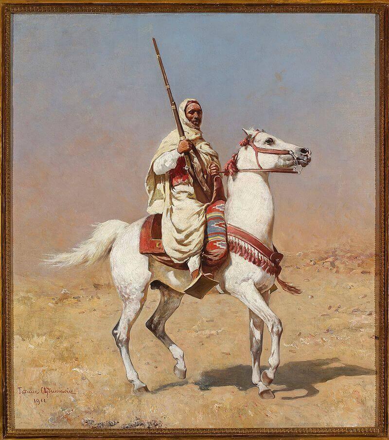 Тадеуш Айдукевич «Араб на белом коне»