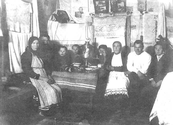 Удмуртская семья