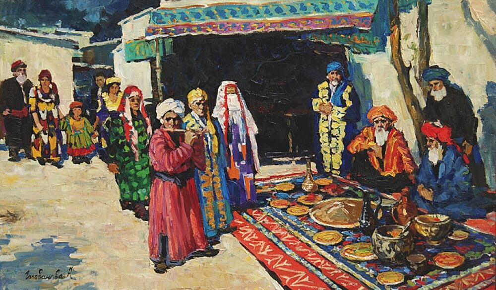 А. Голованова «Таджики»