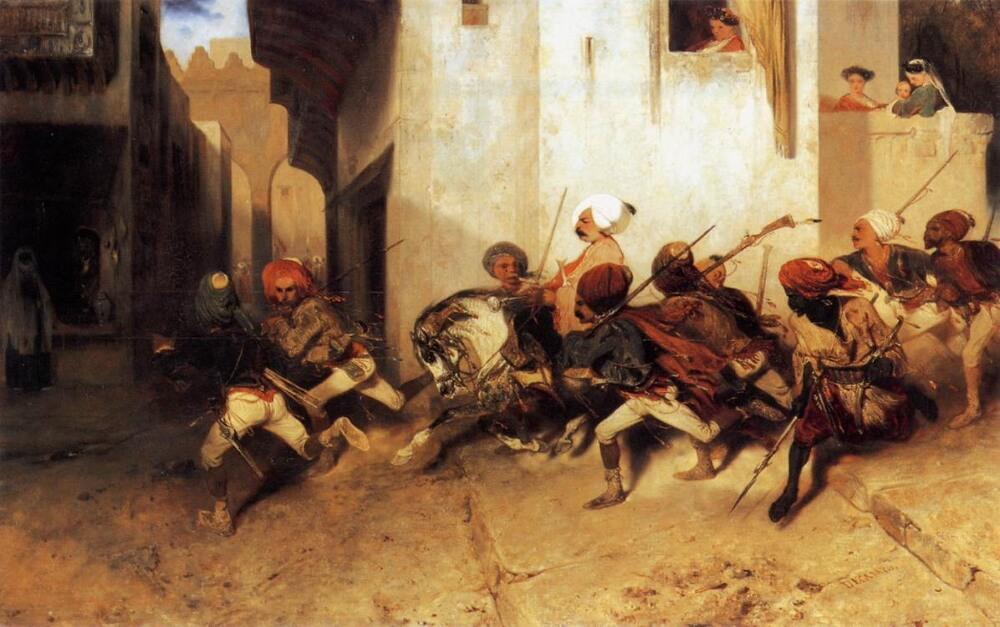 Александр-Габриэль Декан «Турецкий патруль»