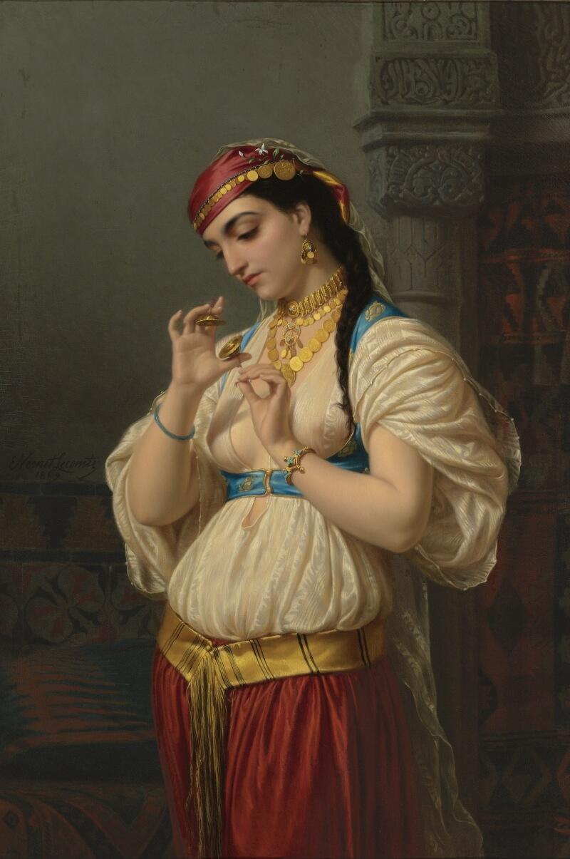 Emile Lecomte-Vernet «Османская девушка»