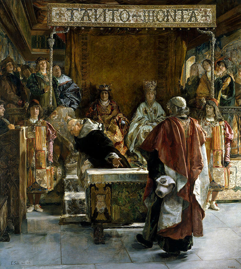 Эмилио Сала Франсес «Изгнание евреев из Испании»