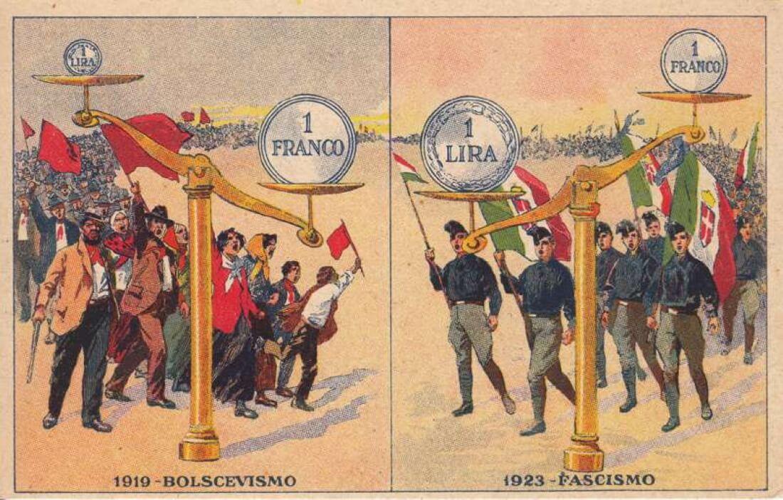 Фашистская предвыборная листовка 1924 года