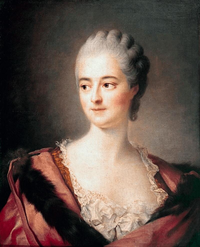 Франсуа-Юбер Друэ «Портрет Мадам дю Барри»