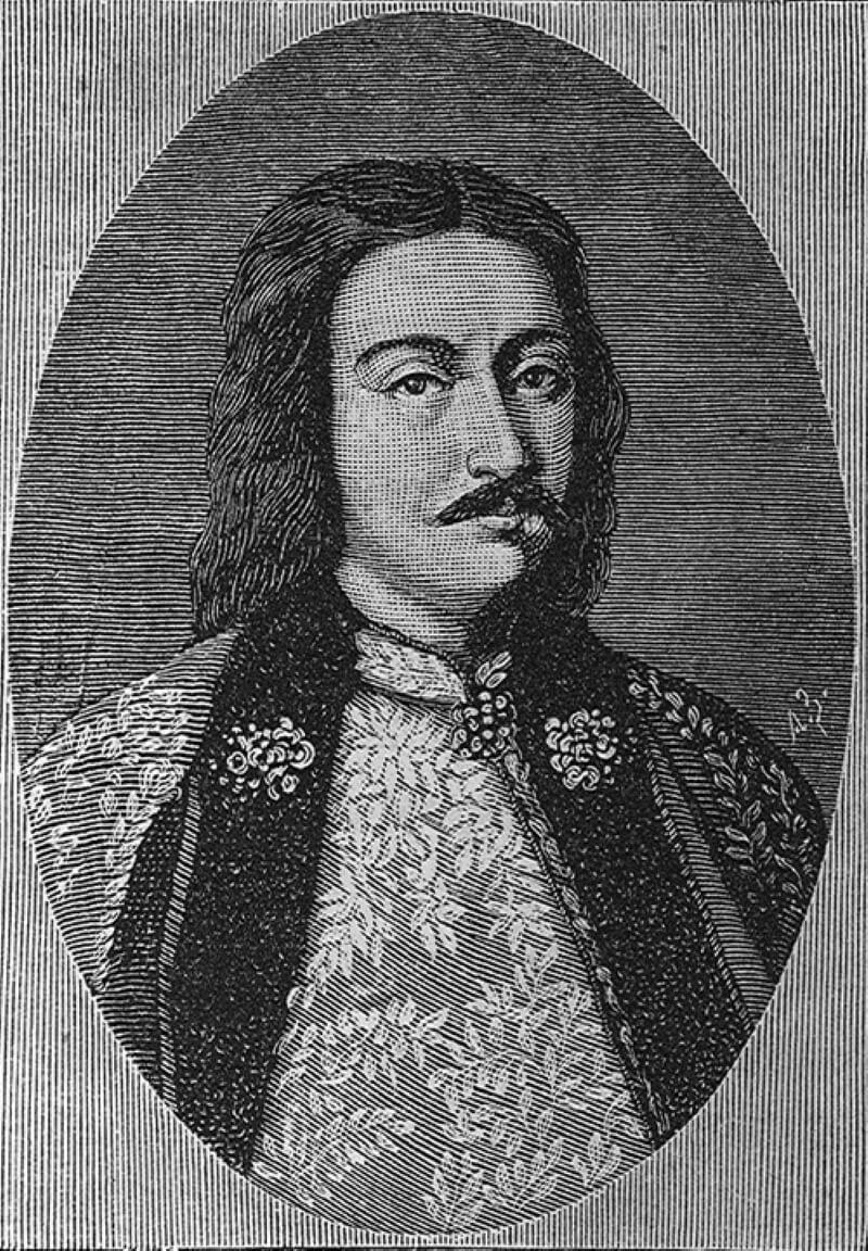 Иван Кириллович Нарышкин. Гравюра XVII века