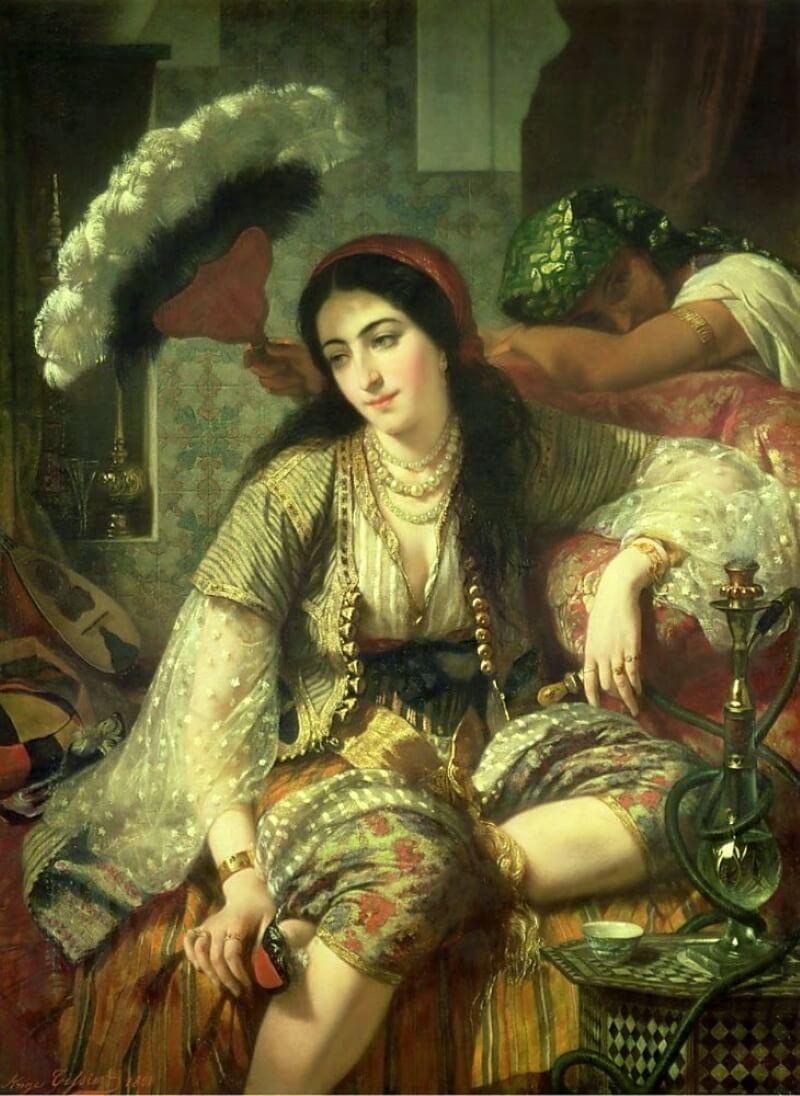 Jean-Baptiste-Ange Tissier «Наложница султана»