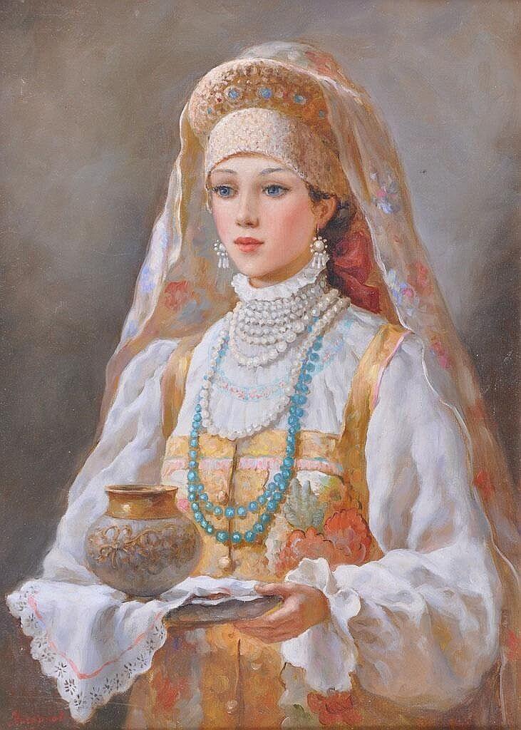 Константин Маковский «Русская красавица» (не является портретом царевны)