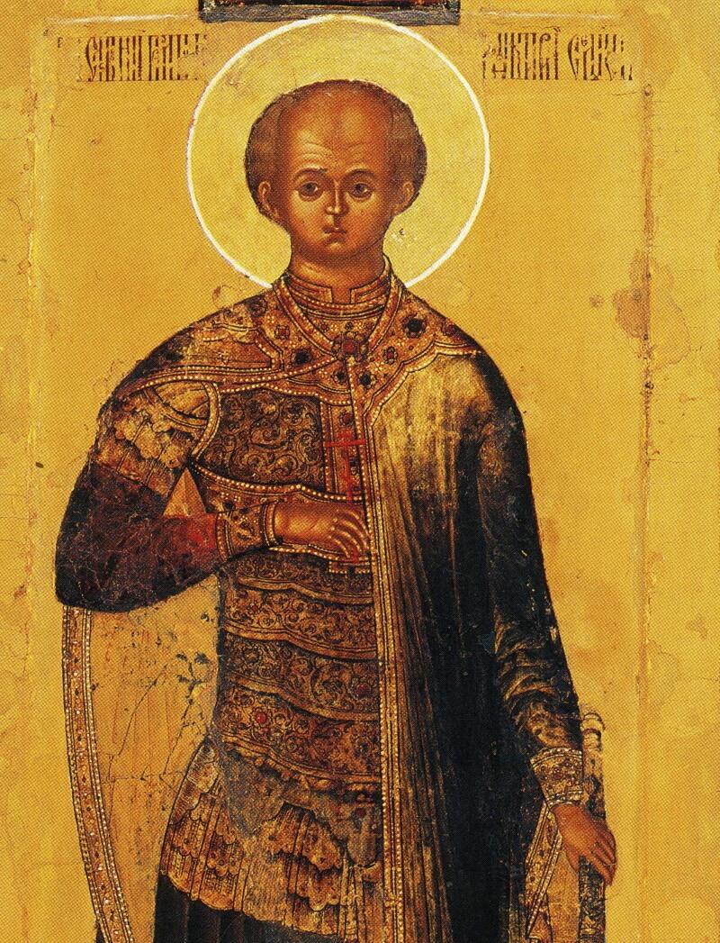 Мерная икона Дмитрия Алексеевича