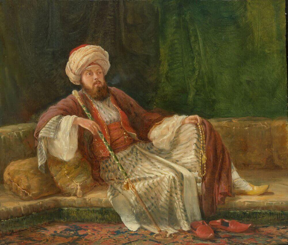 Неизвестный художник (картина не является изображением Алаэддина)