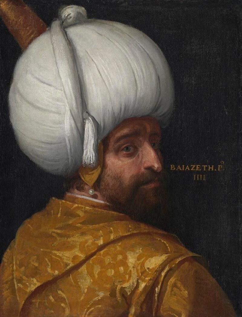 Паоло Веронезе «Султан Баязид I»