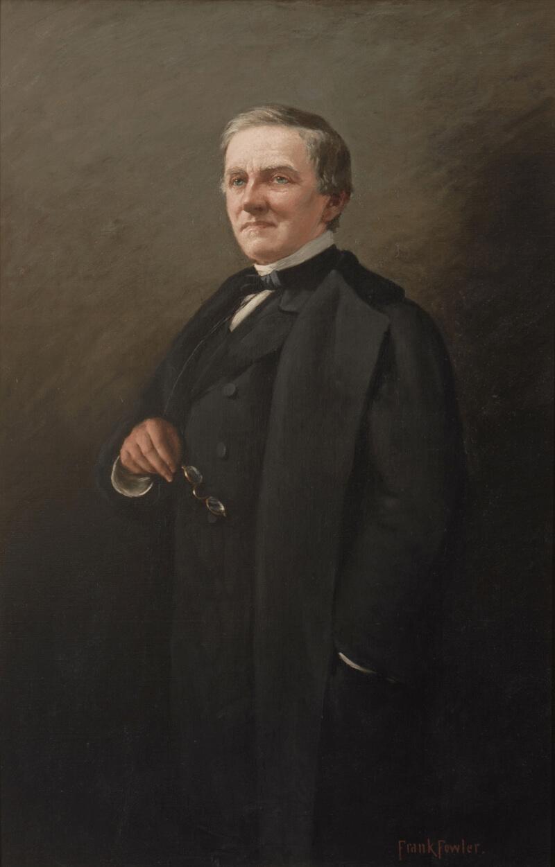Портрет губернатора Нью-Йорка и кандидата в президенты США 1876 года Сэмюэла Джонса Тилдена.