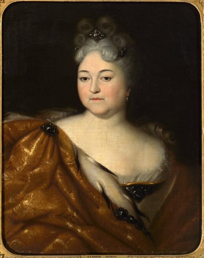 И. Н. Никитин «Портрет царевны Натальи Алексеевны», 1716