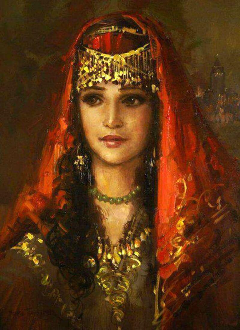 Ремзи Ташкиран «Османская девушка», не является портретом Нефисе