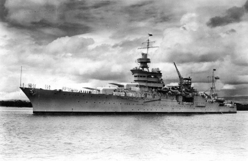 Тяжёлый крейсер «Индианаполис»