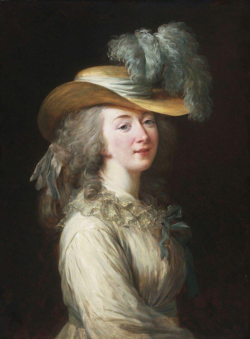 Виже-Лебрён «Портрет графини Дюбарри»