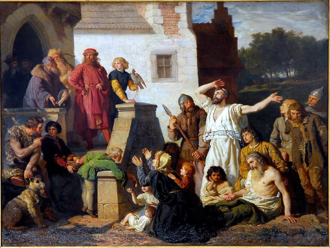 Войцех Герсон «Принятие евреев, Казимир Великий и евреи»
