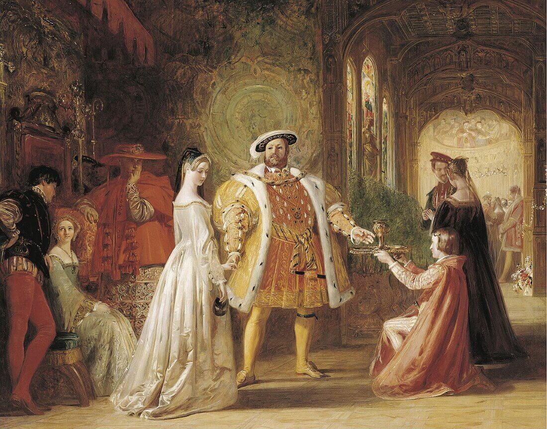 Дэниел Маклайз «Первая встреча Генриха VIII с Анной Болейн»
