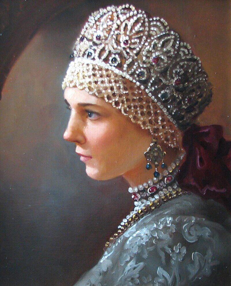 Андрей Шишкин «Краса девица», не является портретом Агафьи Грушецкой
