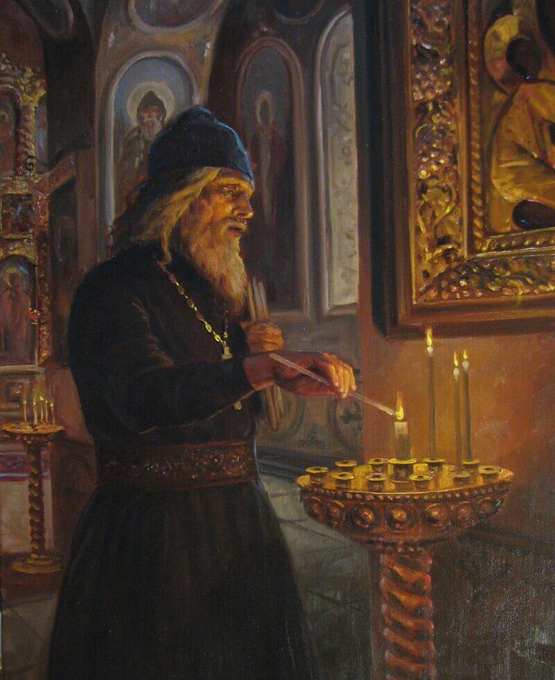 Андрей Шишкин «Перед службой»