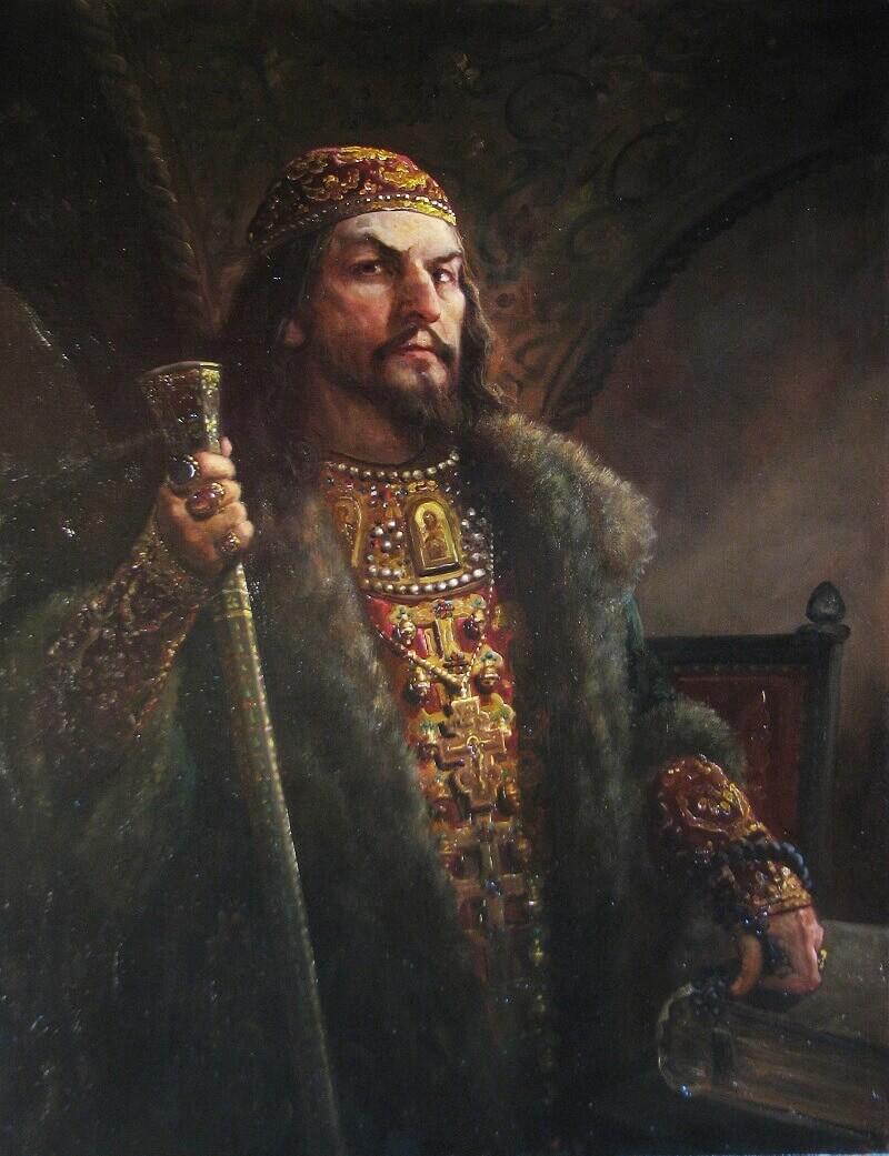 Андрей Шишкин «Царь Иван»