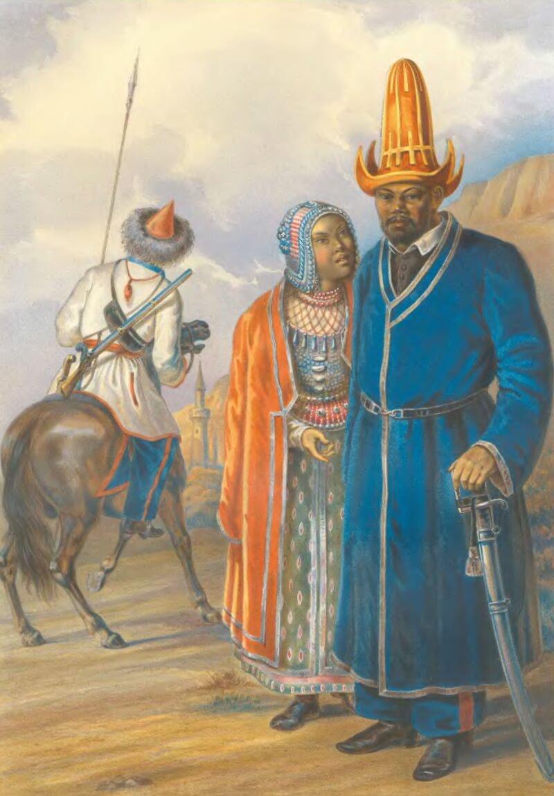 Башкиры. Из книги «Этнографическое описание народов Российской империи» 1862 год.