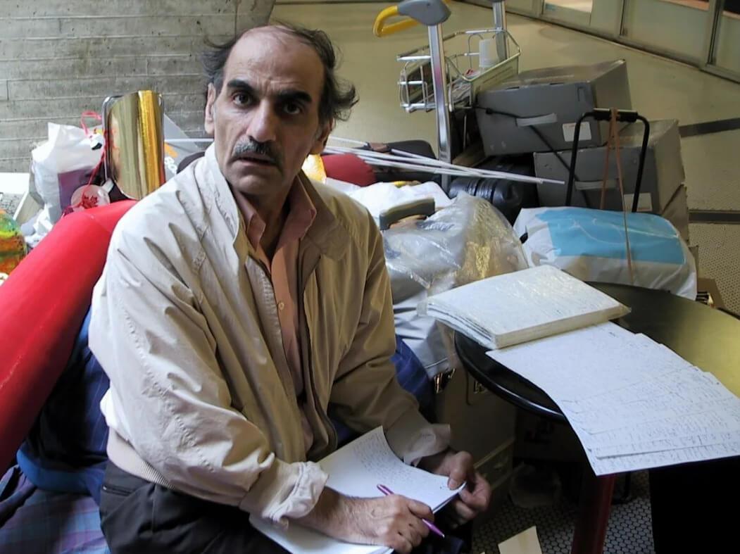 Рабочее место Мехрама Нассери