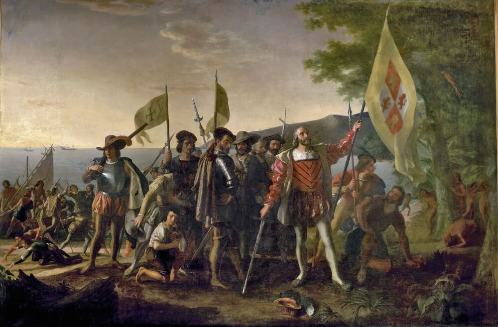 Джон Вандерлин «Высадка Колумба в Америке»