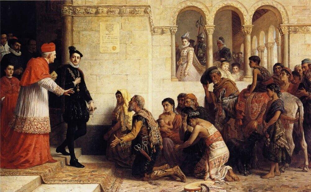 Эдвин Лонг «Просители. Высылка цыган из Испании»