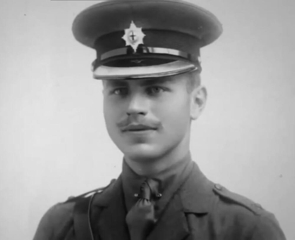 Эрнест Симпсон во время Первой мировой войны