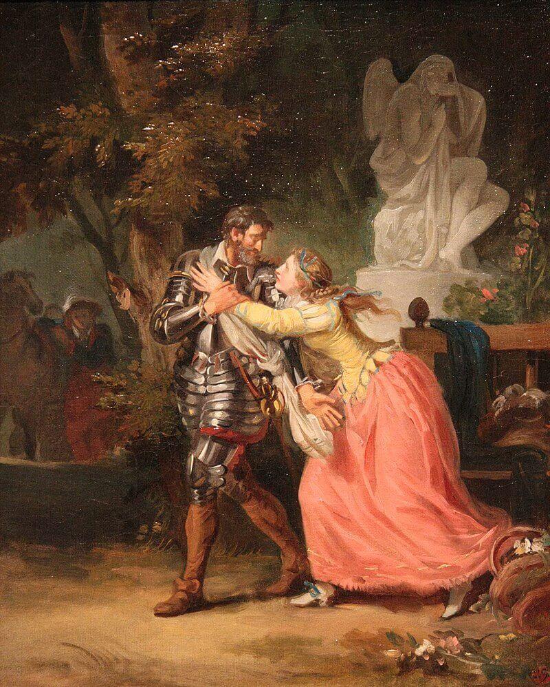 Франсуа-Андре Венсан «Прощание Генриха IV и Габриель Д'Эстре»