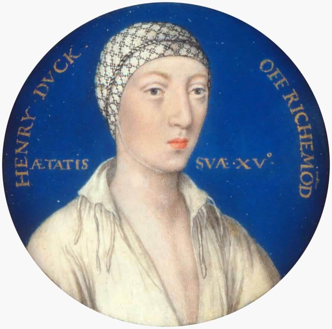 Генри Фицрой, внебрачный сын Генриха VIII и Элизабет Блаунт