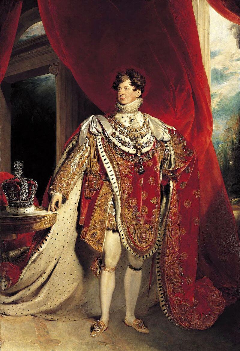 Томас Лоуренс «Портрет Георга IV»