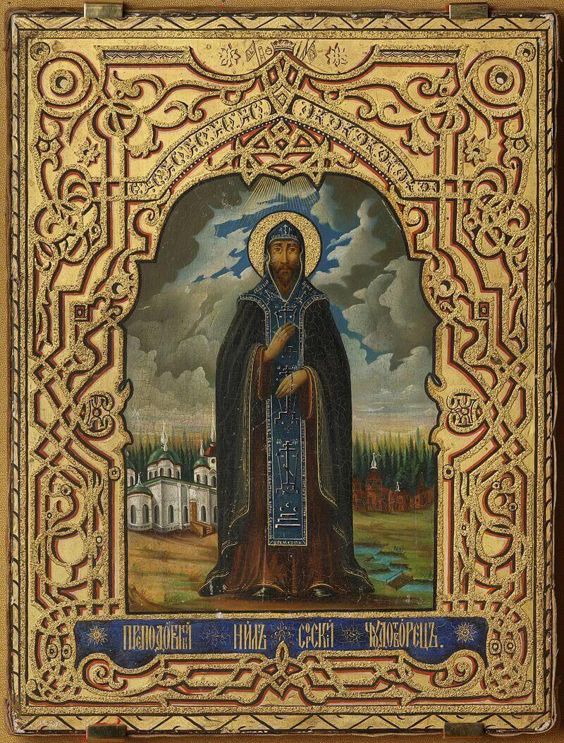 Икона «Св. Нил Сорский»