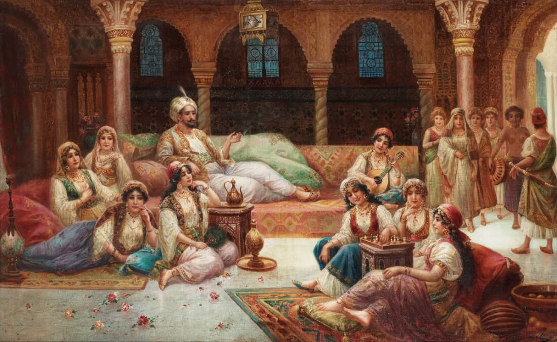 J. G. Delincourt «Гарем султана»