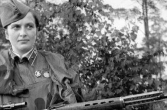 Людмила Павличенко - известная женщина-снайпер