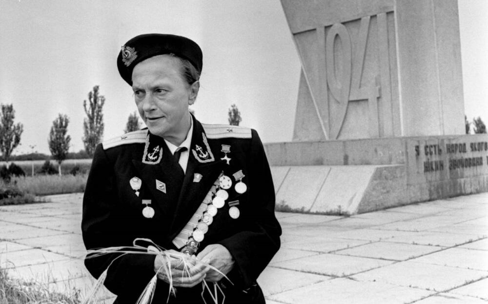Людмила Павличенко в Одессе, 1971 год